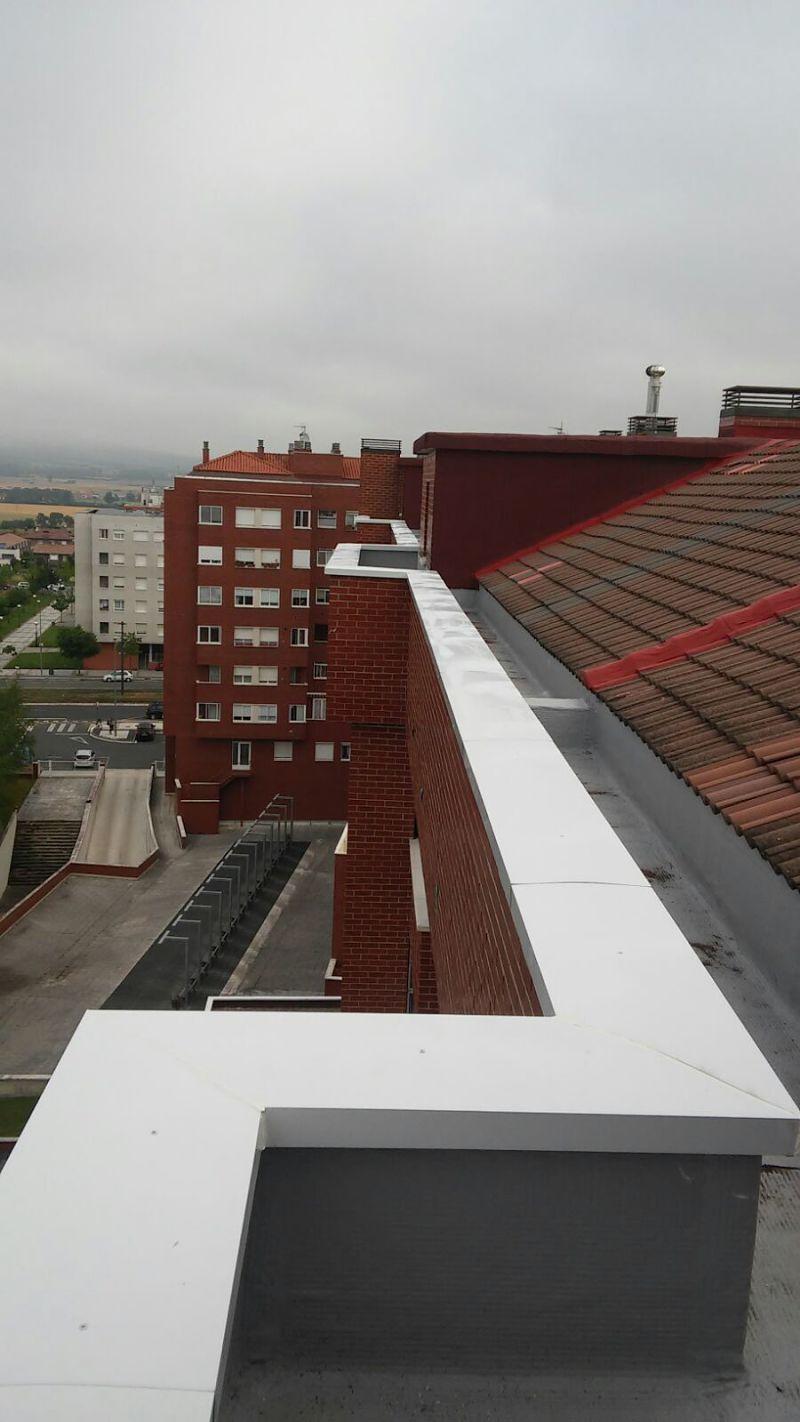 Reparaci n e impermeabilizaci n tejados proyectos - Empresas limpieza pamplona ...
